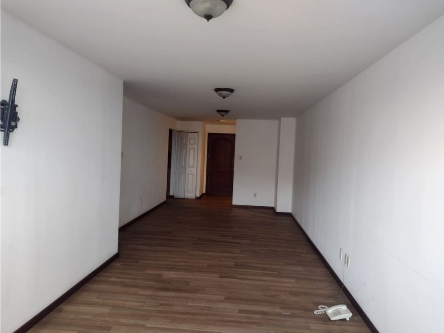 apartamento en alquiler en zona 14 edificio bellini