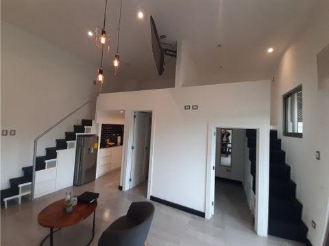 apartamento tipo loft en renta zona 15 vhiii
