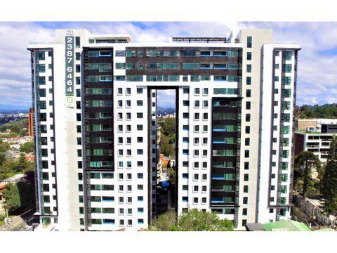 alquiler de apartamento en zona 15 edificio liv