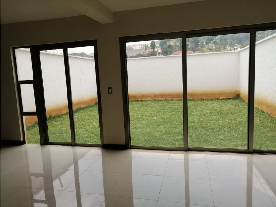 casa en alquiler zona 16 hacienda real guatemala