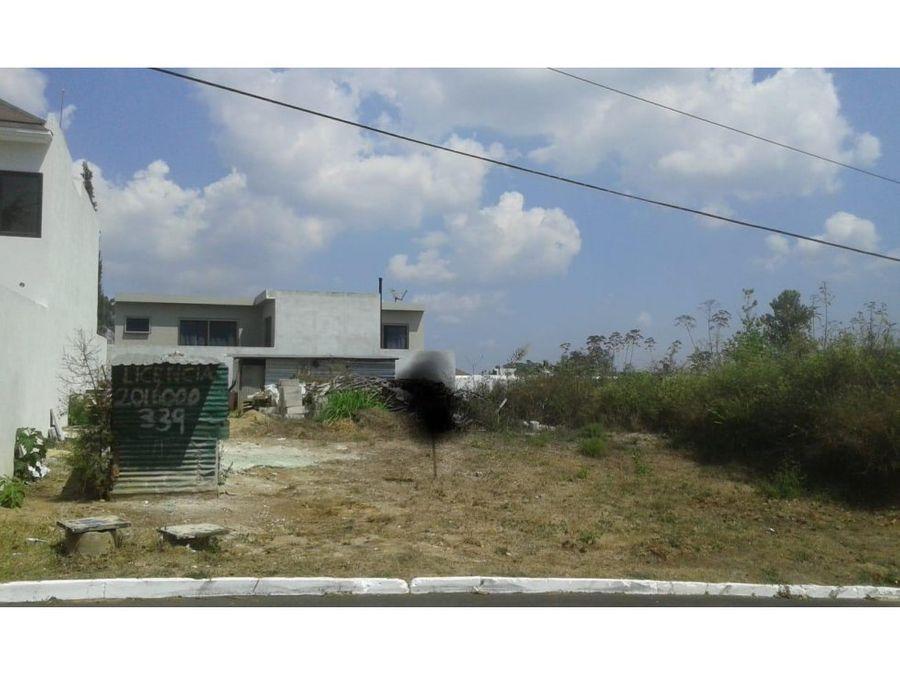 terreno en venta zona 16 jardines de san isidro