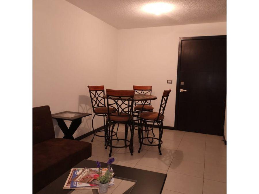 alquiler de apartamento amueblado en zona 11