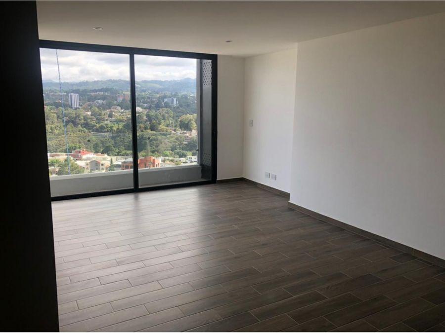 alquiler de apartamento en zona 15 para estrenar