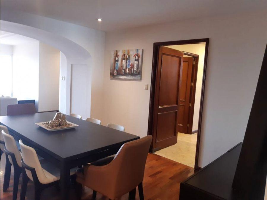 alquiler de apartamento amueblado en zona 15