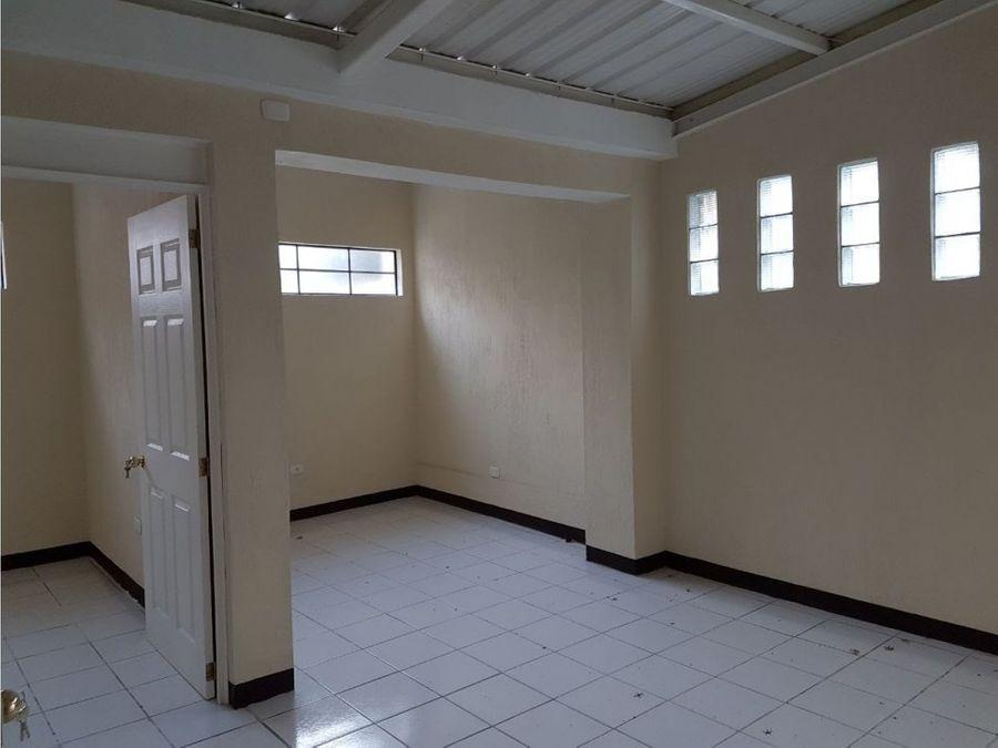 casa en renta para oficinas en zona 11