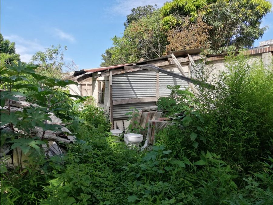 terreno en venta zona 11 mariscal ciudad de guatemala