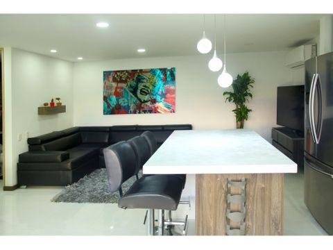 espectacular apartamento para alquiler amoblado