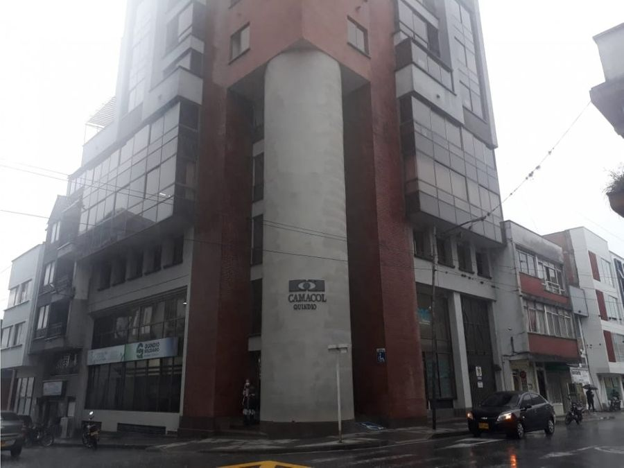 arriendo oficina en edificio camacol centro de armenia