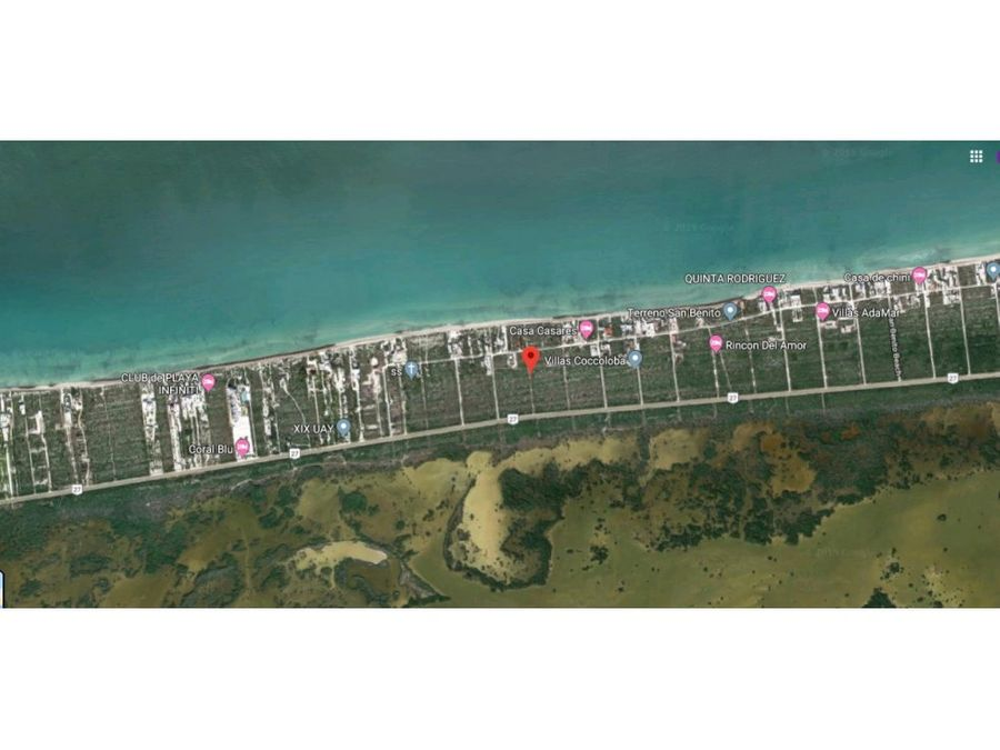 terrenos san benito playa dzemul yucatan