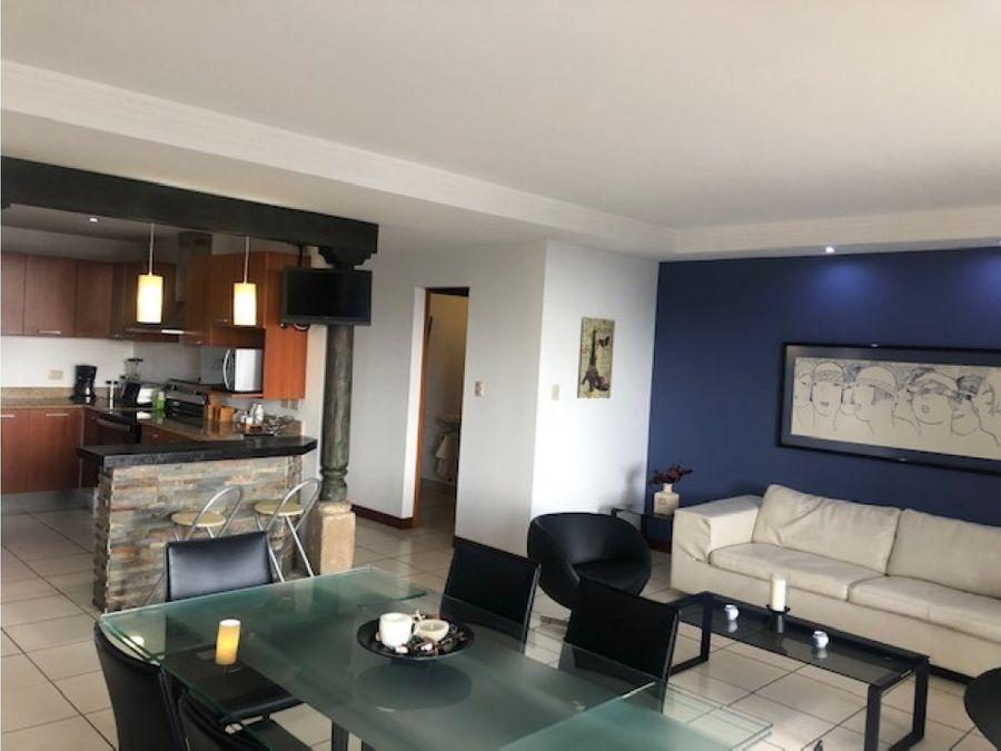 apartamento en renta amueblado y equipado zona 10