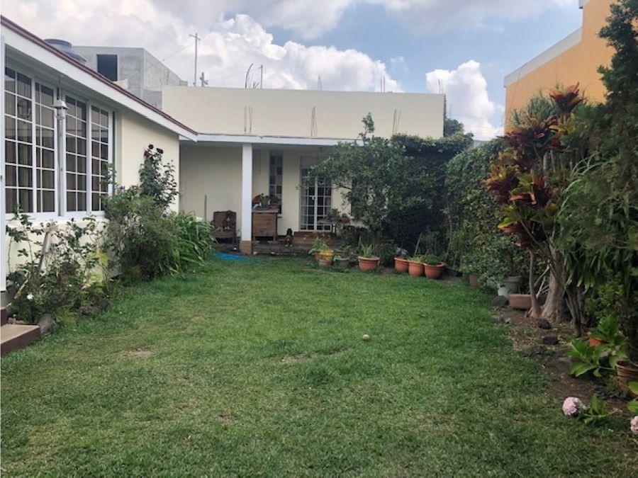 vendo casa de un nivel dentro de garita san jacinto zona 10 de mixco