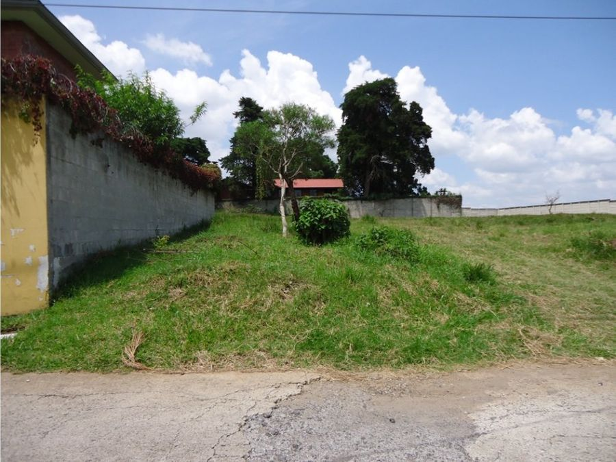 vendo terreno en residenciales loma real san cristobal
