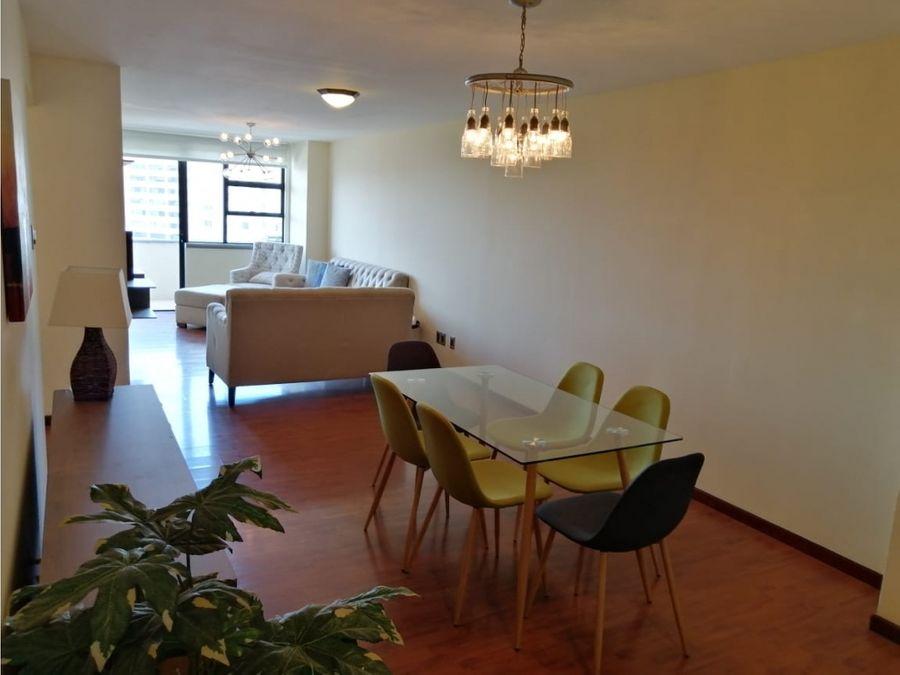 rento apartamento en bellini amueblado y equipado zona 14