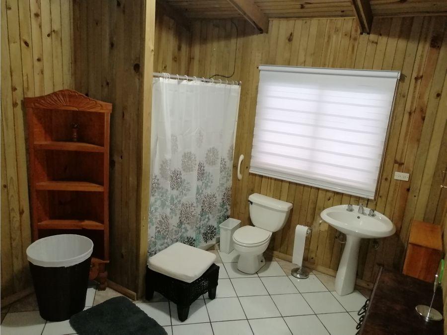 se renta cabana amueblada y equipada en santa lucia milpas altas