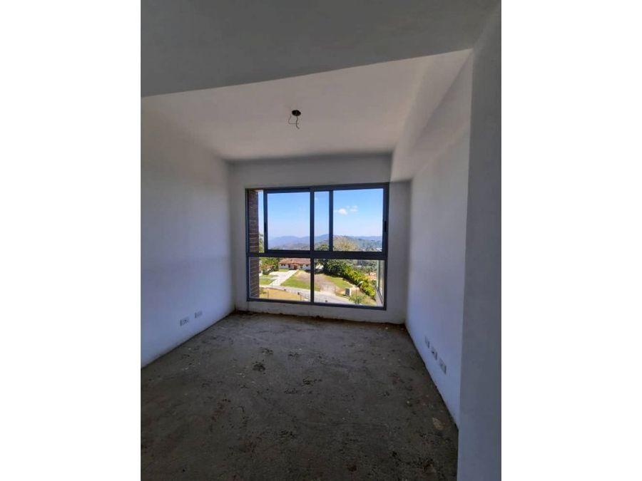 apartamento en venta alto hatillo 3h 4b 3p