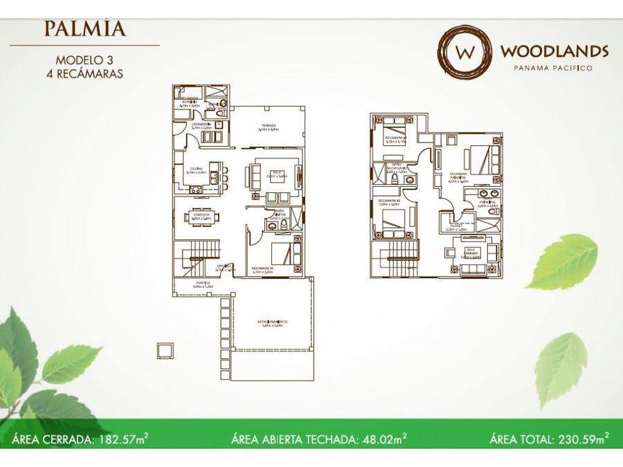 casa en venta woodlands panama pacifico