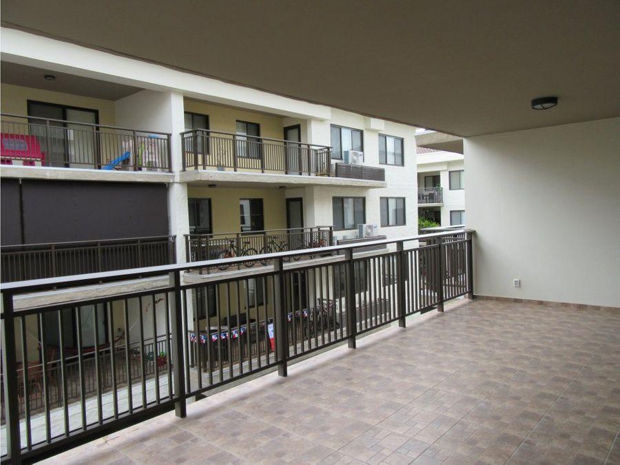 alquilo apartamento de 3 recamaras en river valley panama pacifico