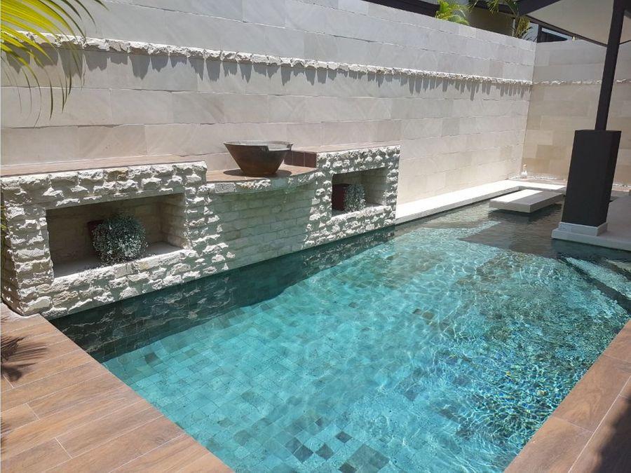 venta casa con piscina nativa panama pacifico