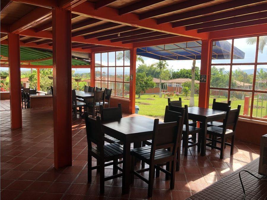 venta hotel campestre parque del cafe