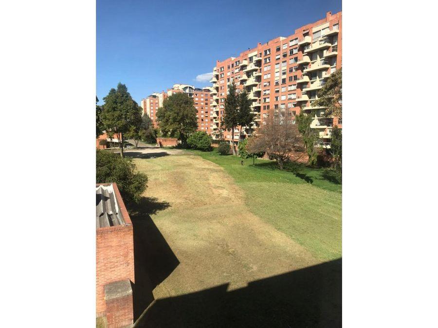 apartamento con vista a parque en cedritos