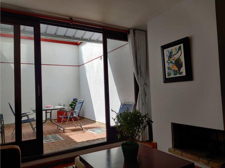 apartamento interior con patio en chico norte