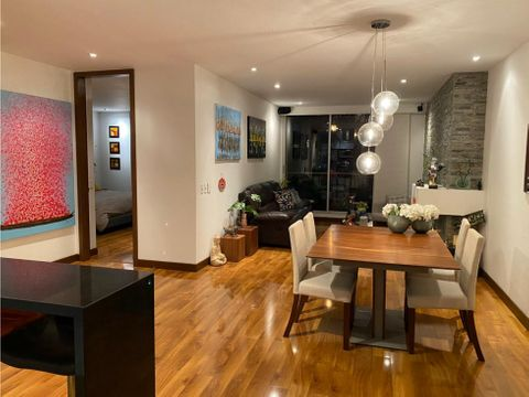 apartamento moderno exterior con balcon en san patricio