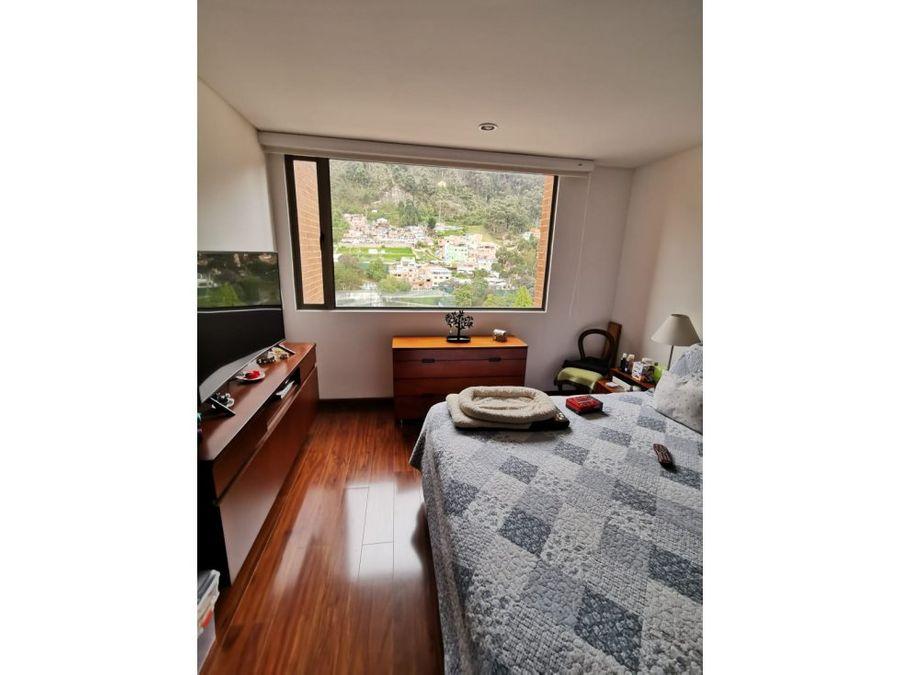 apartamento exterior con club house en chapinero alto