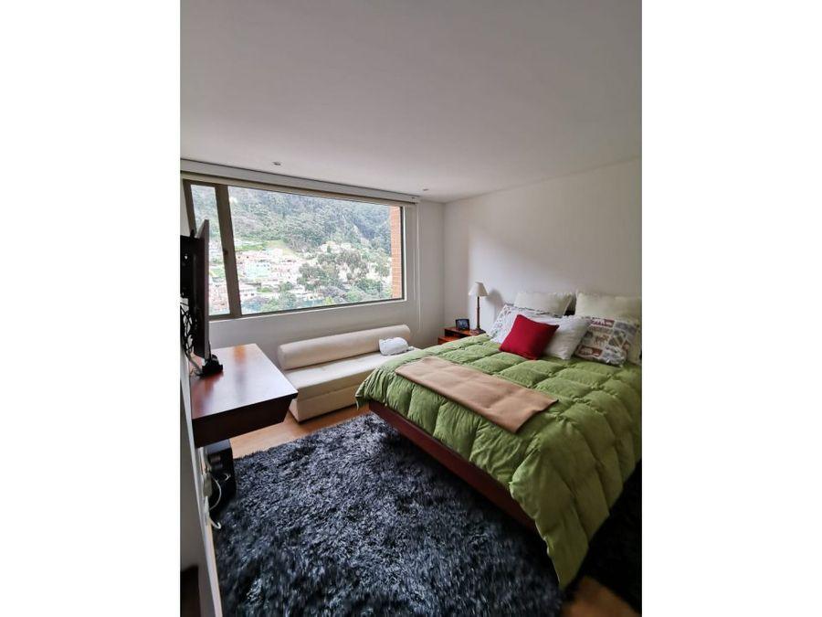 apartamento exterior con balcon en chapinero alto