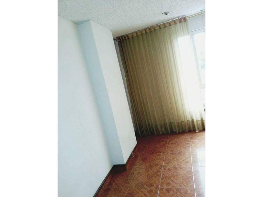 apartamento interior en chapinero alto