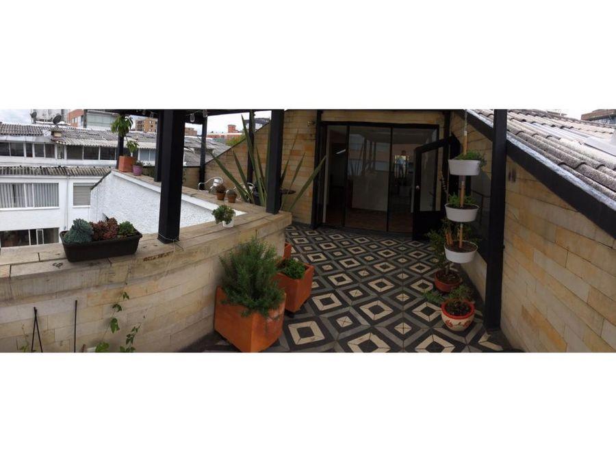 apartamento ph duplex con terraza en chico