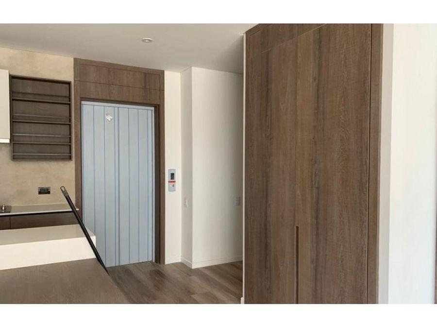 apartamento interior iluminado con club house en chico