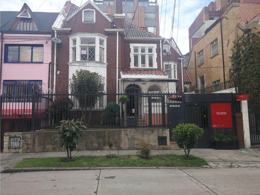 casa estilo ingles en chapinero alto