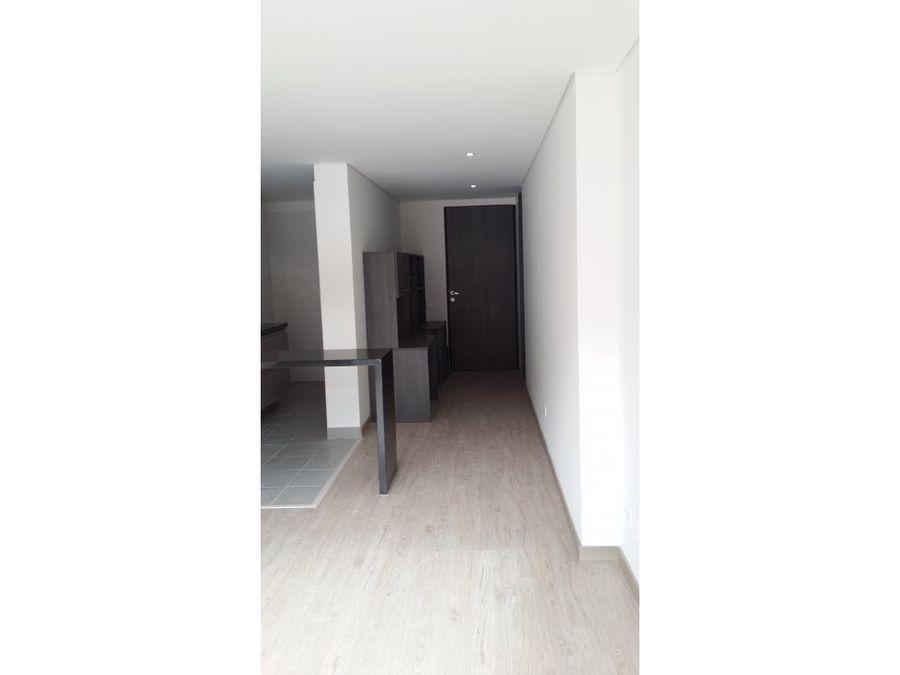 apartamento interior con terraza en cedritos