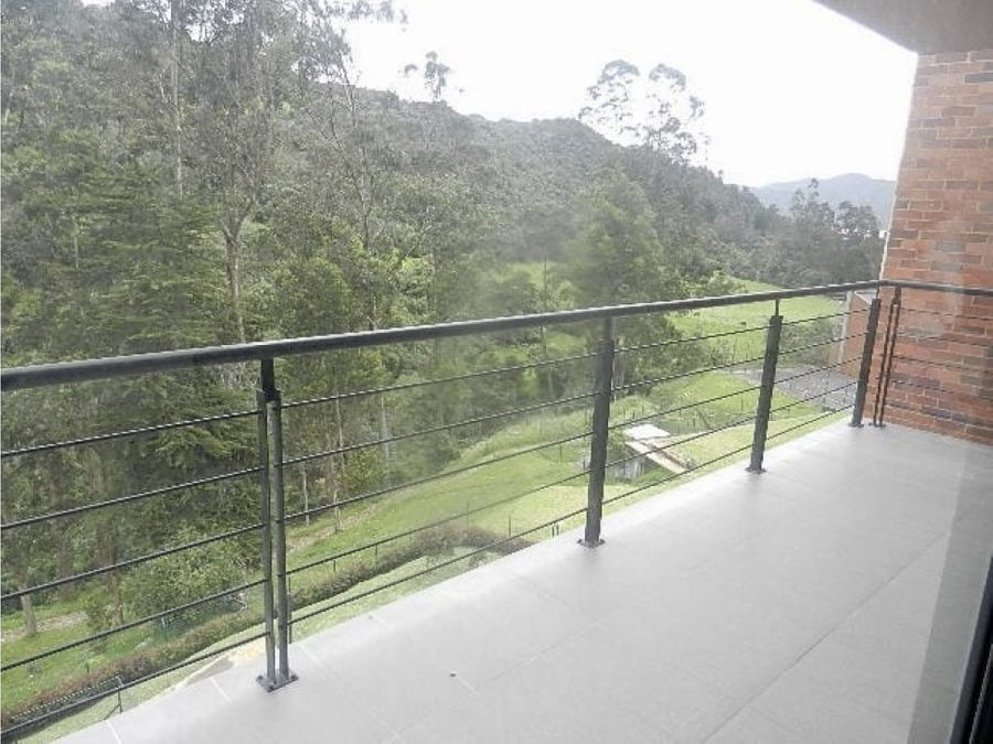apartamento exterior con vista a verde en la calera