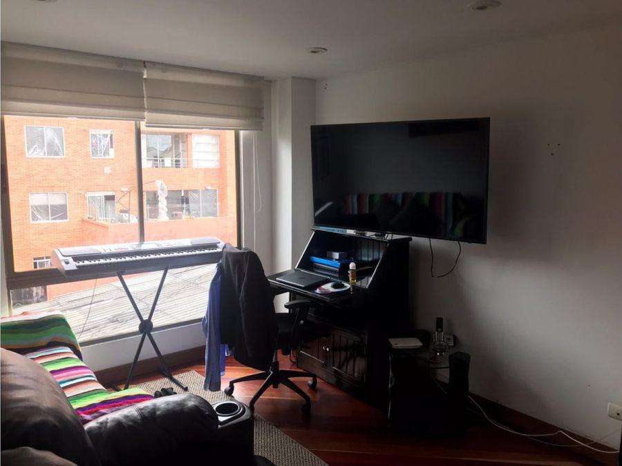 apartamento duplex con buena vista en san patricio