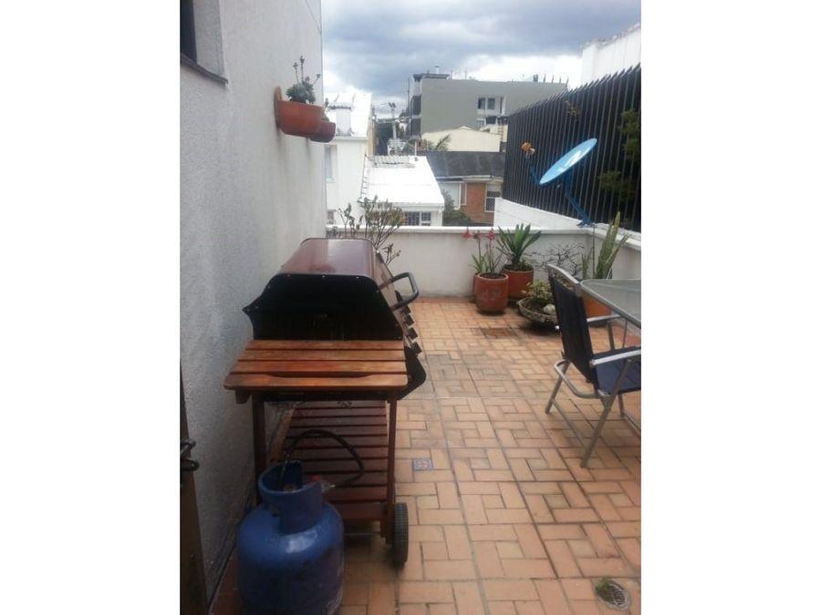 apartamento con 52m2 de terraza en santa barbara
