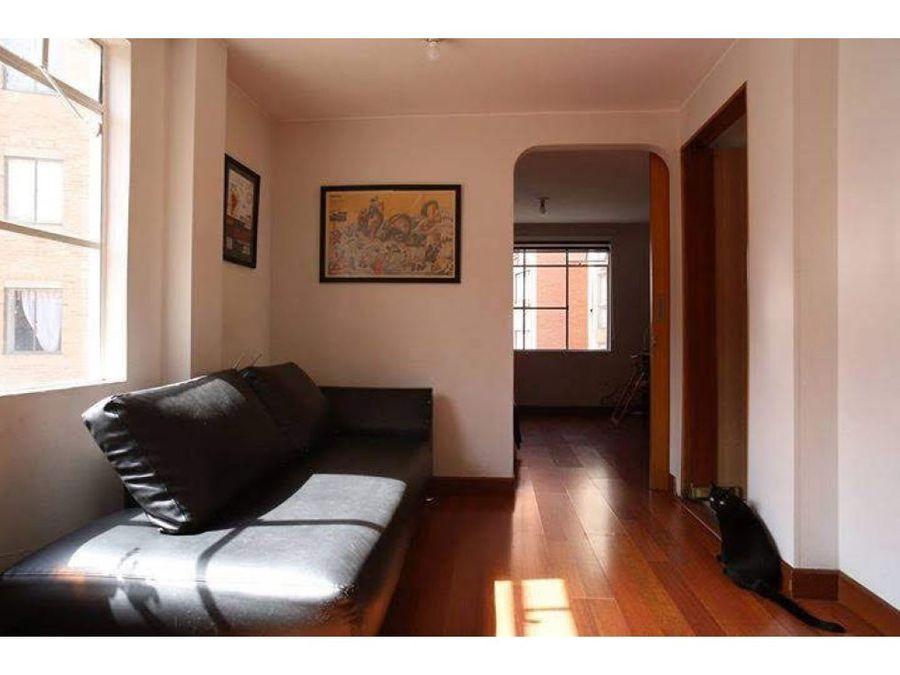 apartamento ph duplex iluminado en chapinero alto