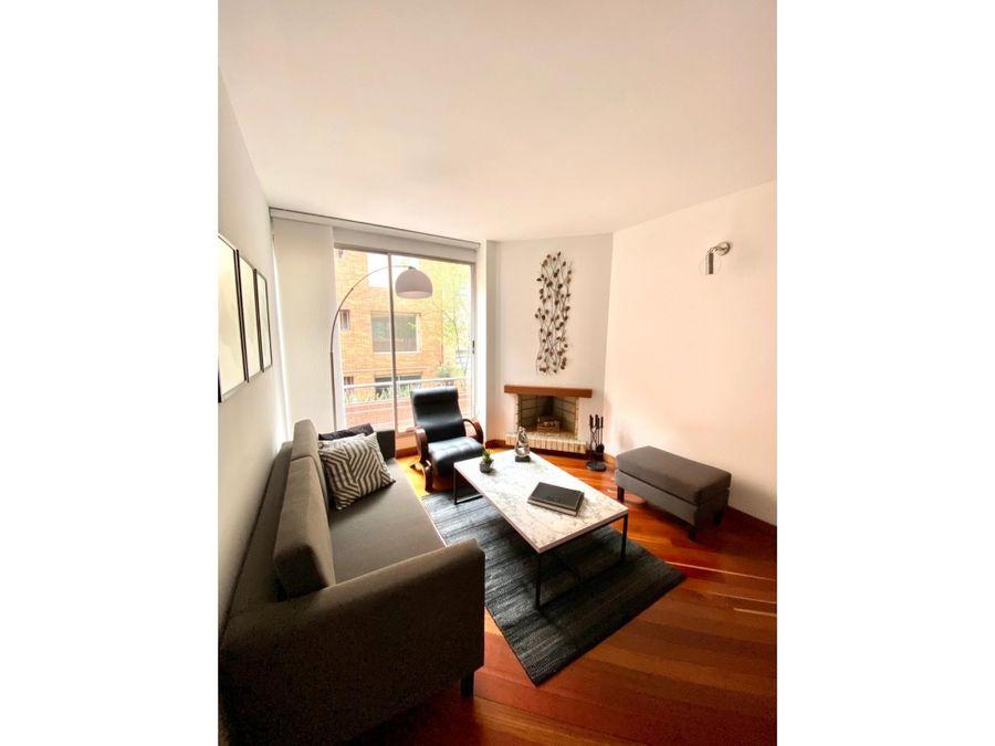 hermoso apartamento en chico reservado
