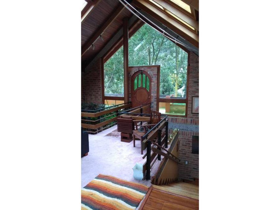 hermosa casa en la reserva de la floresta