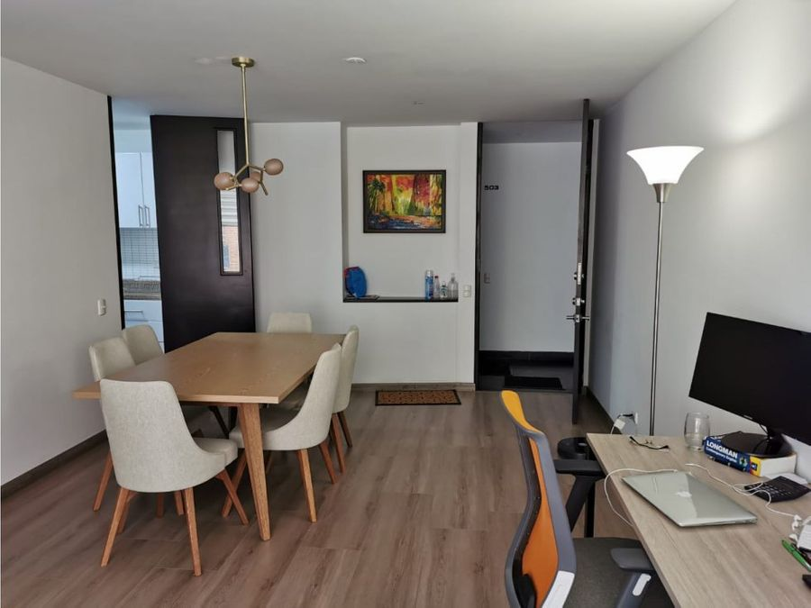 hermoso apartamento interior en chico navarra