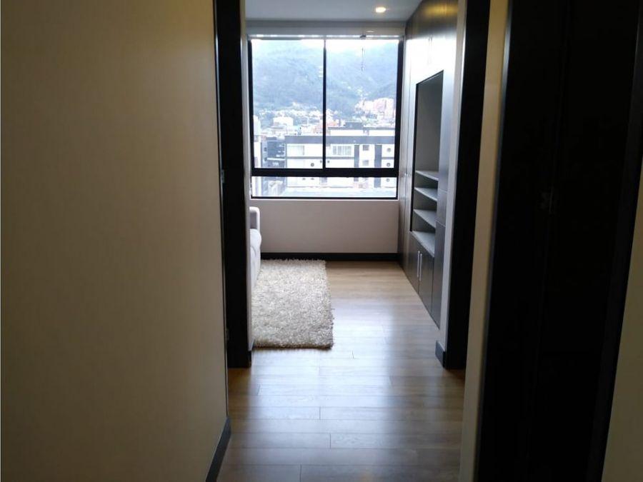 apartamento con balcon en chico