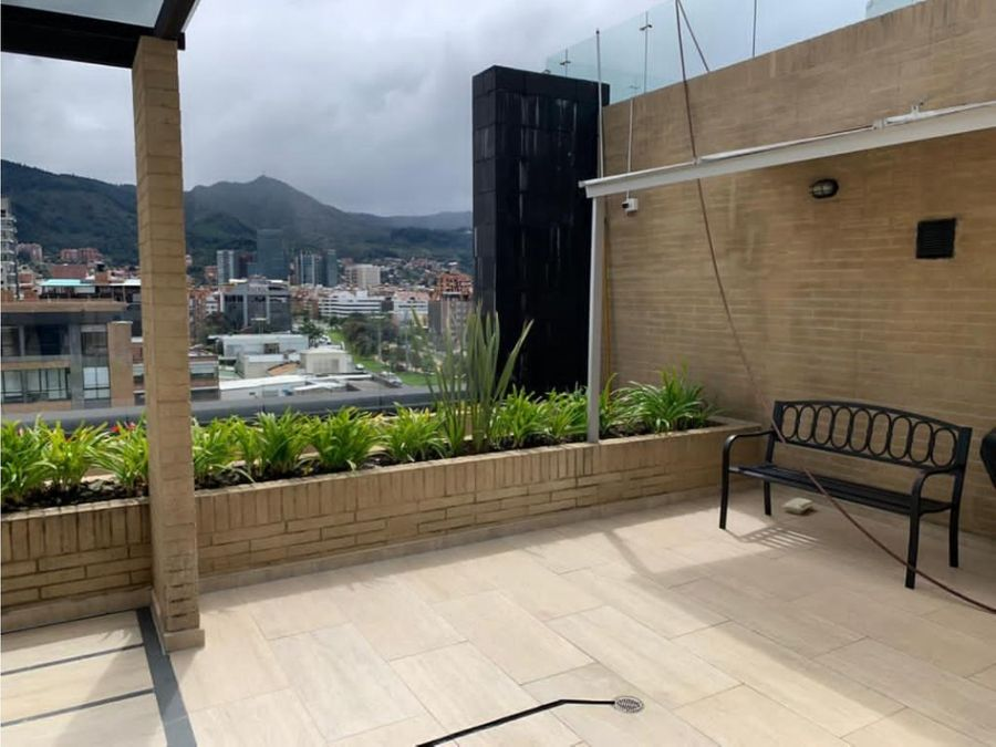 apartaestudio interior con balcon en santa barabara occidental