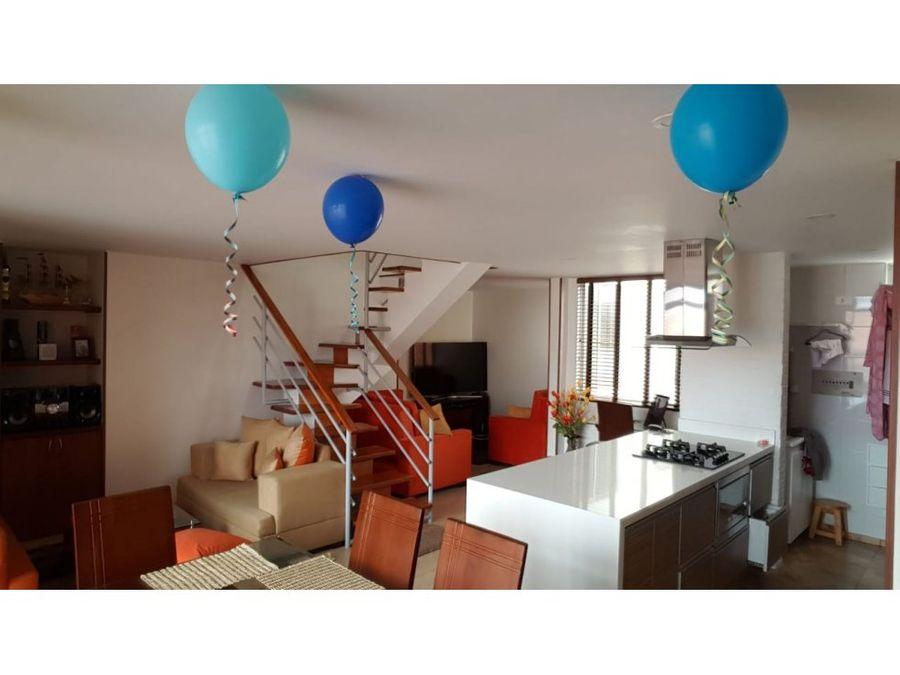 apartamento duplex interior en puente largo
