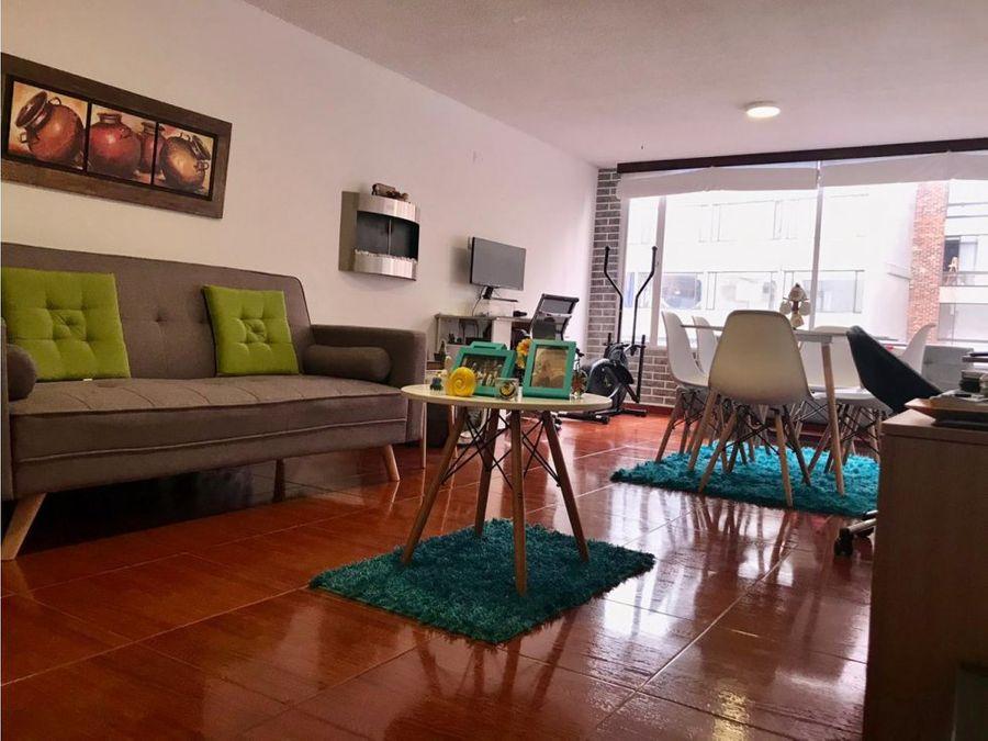 apartamento interior en chapinero