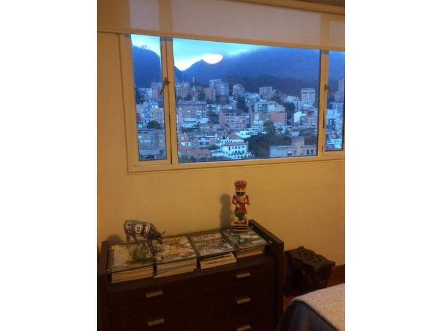 apartamento exterior muy iluminado en chapinero alto
