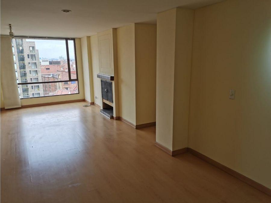 apartamento exterior con linda vista en chapinero alto