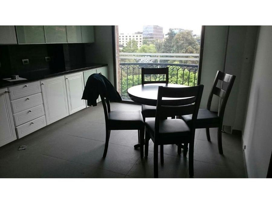 apartamento con vista excepcional en la cabrera