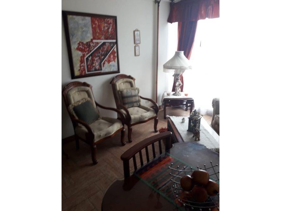 apartamento iluminado con vista en chapinero alto