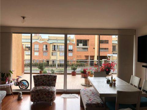 apartamento exterior con terraza en portales del norte