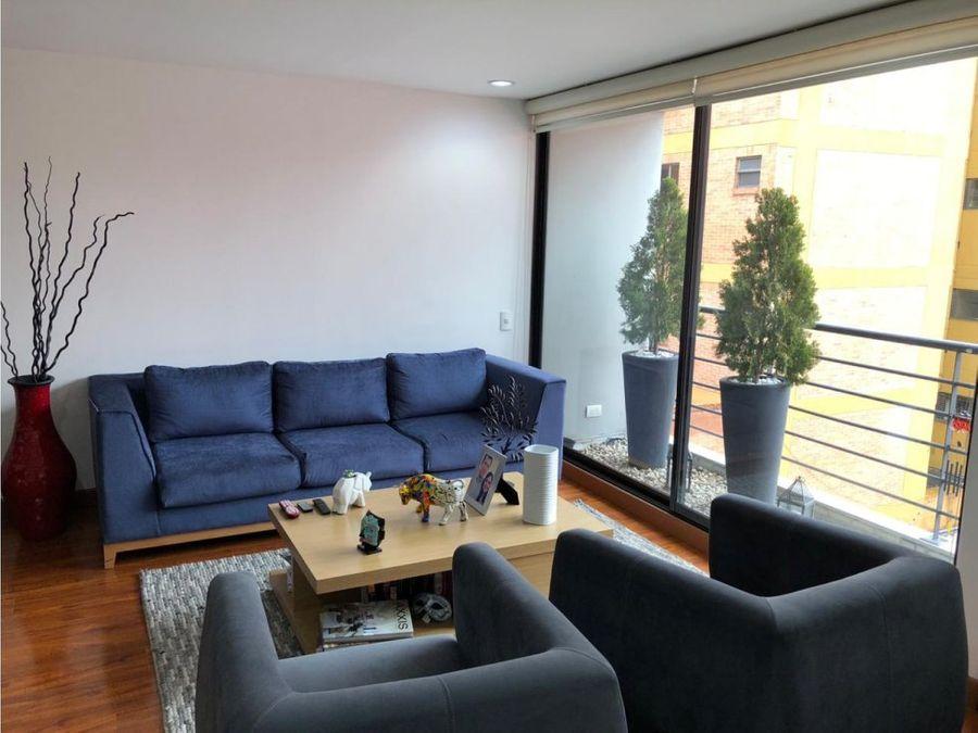 apartamento interior con balcon en santa paula